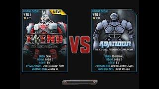 Real Steel WRB Fiend VS Abandon  NEW ROBOT Update Halloween