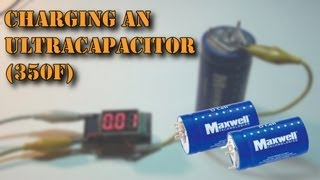 getlinkyoutube.com-Charging a 350F Maxwell Ultracapacitor!