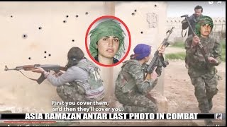 getlinkyoutube.com-Asia Ramazan Antar Kurdish Female Hero 9 ISIS Kills