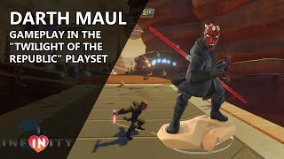 "getlinkyoutube.com-Darth Maul Gameplay in Disney Infinity 3.0 (PC) in ""Twilight of the Republic"""