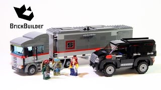 getlinkyoutube.com-Lego Ninja Turtles 79116 Big Rig Snow Getaway - Lego Speed Build