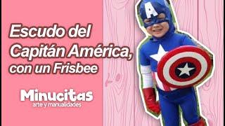 getlinkyoutube.com-Escudo del Capitán América, con un Frisbee. wmv.
