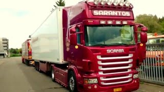 getlinkyoutube.com-Sarantos Scania V8 with open Pipe