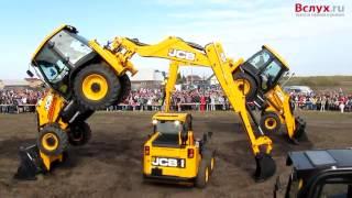 Первые тюменские гонки на тракторах
