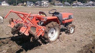 getlinkyoutube.com-クボタトラクター GL-21 全農仕様 です。