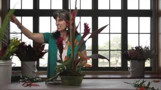 Diana Ryan - How to A Create Tropical Flower Arrangement