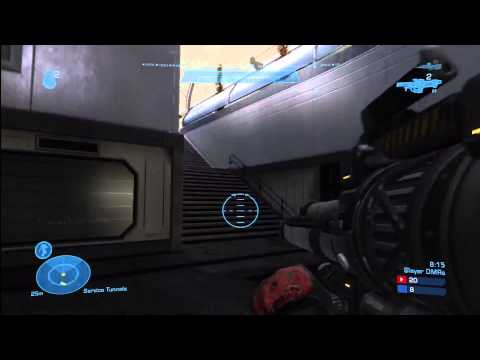 Halo Reach Tutor Multiplayer Gameplay Commentary | One of My All Time Best Games