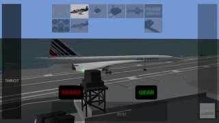 getlinkyoutube.com-Xplane 9 Concorde Landing Fails and Game Fails