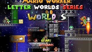 getlinkyoutube.com-Mario Worker: Letter Worlds Series - World S