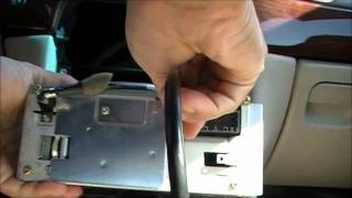 How to put an Auxiliary input jack into most Chrysler Radios for