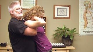 getlinkyoutube.com-5 Chiropractic Adjustments, Upper Back Adjustment Part 3, Austin Chiropractor Jeff Echols