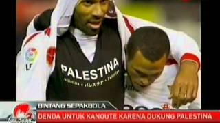 getlinkyoutube.com-Cristiano Ronaldo, Lionel Messi, Kanoute, Diego Maradona love palestine