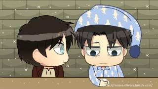 getlinkyoutube.com-SNK Chibi Shorts Levi gets tired and feel proud of Eren