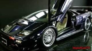 ランボルギーニ ディアブロSV(Lamborghini Diablo SV) 99年モデル 取材動画
