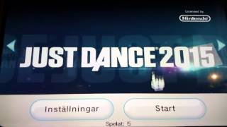 Just dance 2015 - How to get Just Dance 2015 to work - wii