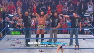 getlinkyoutube.com-James Storm wins the World Heavyweight Championship