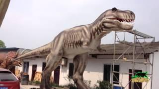 getlinkyoutube.com-ไดโนเสาร์โรงงานในประเทศจีน,การเคลื่อนย้ายผู้จัดจำหน่ายรูปแบบชีวิตขนาดไดโนเสาร์