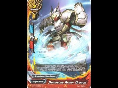 FutureCard BuddyFight ArmorDragon Deck Profile