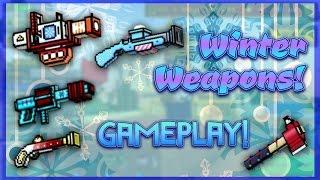 Pixel Gun 3D - Winter Weapon Gameplay!