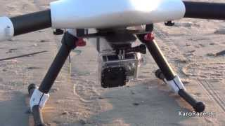 getlinkyoutube.com-Spy600 Y6 Sky-Hero at the beach, Multicopter
