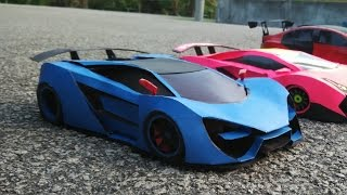getlinkyoutube.com-Lamborghini PaperCraft Car [ Thebian Concepts ]