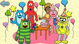 Yo Gabba Gabba! Birthday Party - Best App For Kids - iPhone/iPad/iPod Touch