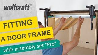 """getlinkyoutube.com-wolfcraft Door frame assembly set """"Pro"""""""