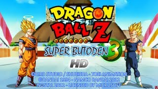 getlinkyoutube.com-Dragon Ball Z HD Super Butoden 3 SNES - Todos los Ataques Especiales
