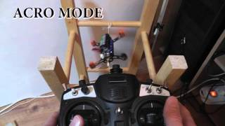 Modes de vol: ACRO / HORIZON /ANGLE - Flying mode