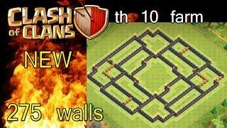 getlinkyoutube.com-Layout cv10 farm (275 muros/walls) [antes do update]