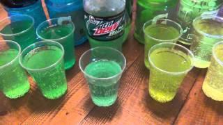 "getlinkyoutube.com-How To Make Taco Bell's Mtn Dew ""BAJA BLAST"" At Home"
