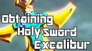 getlinkyoutube.com-Sword Art Online: Lost Song  How To Obtain HOLY SWORD EXCALIBUR  (Quest RAGNAROK'S REVENGE)