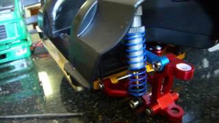 getlinkyoutube.com-Tamiya cc01 build with all hop ups! unimog kit to MAN bruder build part 2