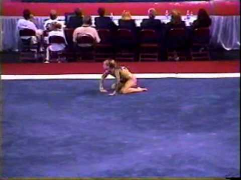 Katie Heenan - 2001 US Nationals Finals - Floor Exercise