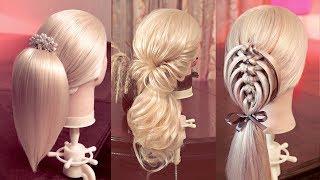 getlinkyoutube.com-24 способа оформить хвост - Hairstyles tutorials compilation (time 1:07:23) by REM