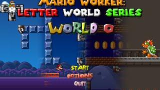 getlinkyoutube.com-Mario Worker: Letter Worlds Series - World O