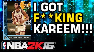 getlinkyoutube.com-NBA2K16 - I GOT KAREEM GAUNTLET PULL!!!