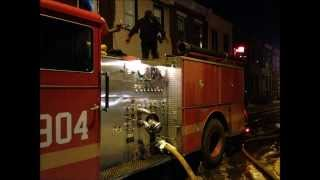 getlinkyoutube.com-PHILADELPHIA FIRE DEPARTMENT BATTLING FIRE ON E. BIRCH ST. USING A VINTAGE 1991 SEAGRAVE ENGINE.