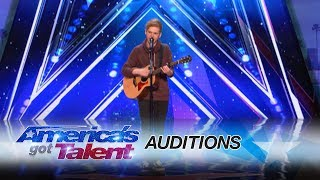 Chase Goehring: Cute Singer Mixes Musical Styles With Original Song - America's Got Talent 2017 width=