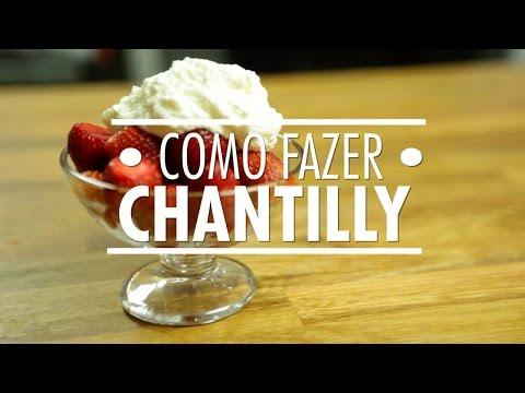 Como Fazer Creme Chantilly | Dicas & Técnicas