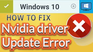 getlinkyoutube.com-How to Fix Nvidia installer cannot continue error - Windows 10 [2016]