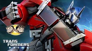 getlinkyoutube.com-Transformers Prime: The Game - Optimus Prime In Energon Match - BroBrahs