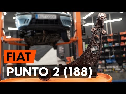 Как заменить передний рычаг подвески FIAT PUNTO 2 (188) (ВИДЕОУРОК AUTODOC)