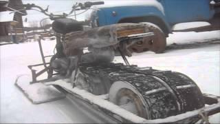 getlinkyoutube.com-Самодельнй снегоход