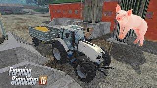 Alimentanto os Porcos e Patos  - Farming Simulator 15