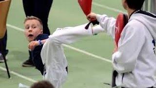 getlinkyoutube.com-The World's Best Taekwondo Kid   Amazing Moments