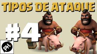 getlinkyoutube.com-Clash of Clans - Estratégias de ataque #4 (CORREDORES)