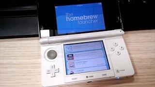 getlinkyoutube.com-Install Menuhax, Ironhax, Oot3dhax Nintendo New 3DS 10.3.0-28E