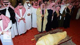 getlinkyoutube.com-Saudi Arabia's King Abdullah bin Abdulaziz Al Saud is laid to rest | Mashable