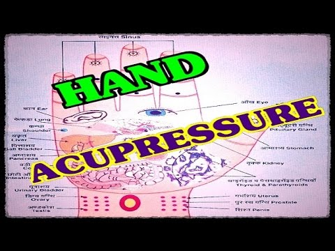 How to Relax by Hand Acupressure